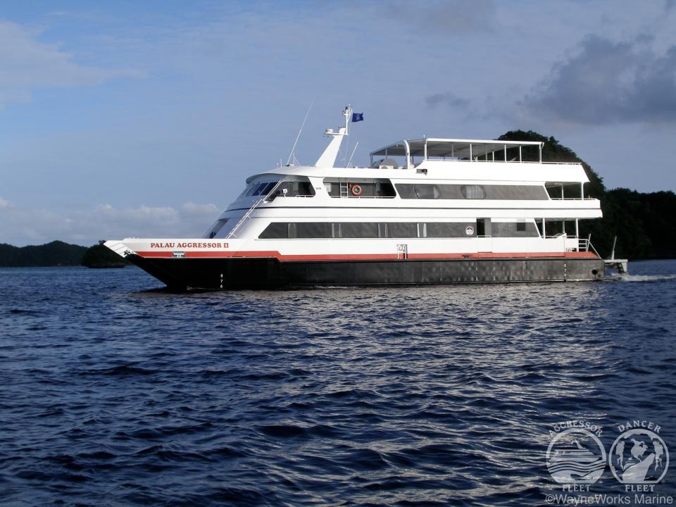 Palau Aggressor II Boat Photo