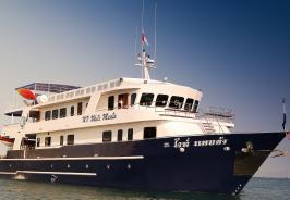 White Manta Boat Photo